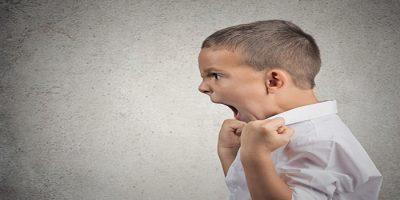 Enfant violent: Comment réagir?