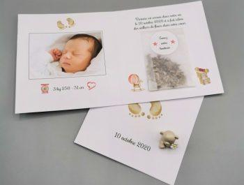 Quelle manière originale pour annoncer la naissance d'un bébé ?
